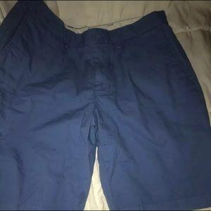 Mens Blue Chino Shorts Size 32 OLD NAVY